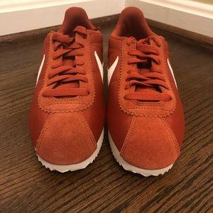 Nike Cortez sneakers in rust